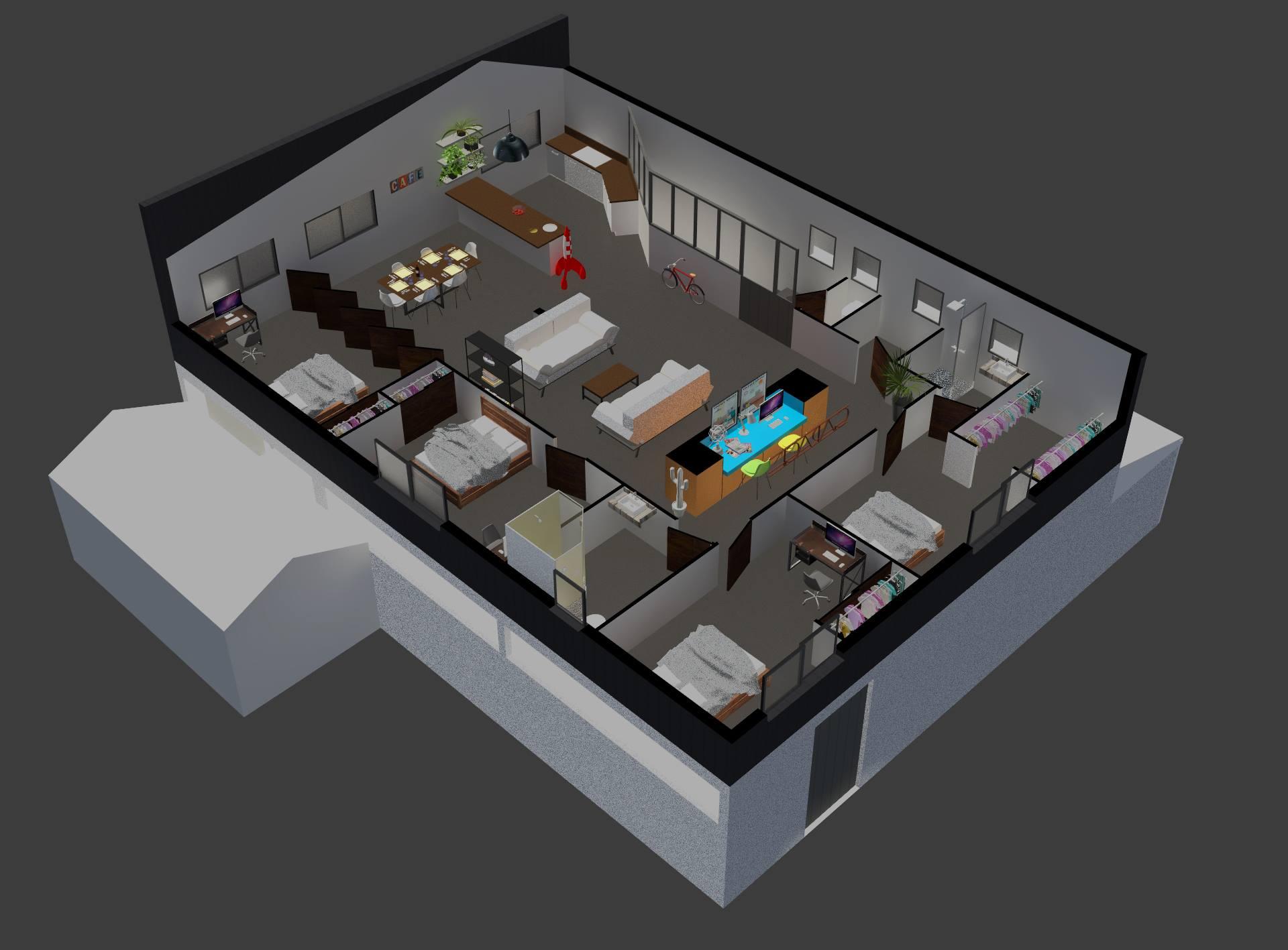 7 - Plan 3D